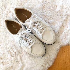 Cole Haan Vartan Sport Oxford White Shoes